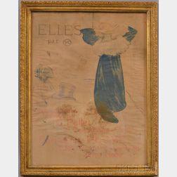 After Henri Toulouse-Lautrec (French, 1864-1901)      Elles