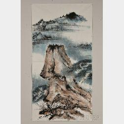 John Way, Large Landscape Painting