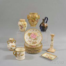Eighteen Assorted Royal Bonn Ceramic Items