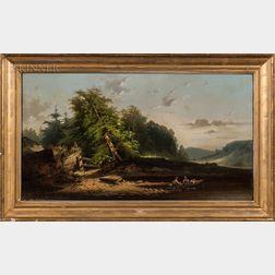 William W. Boyle (American, 19th Century)      Trout Brook