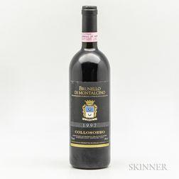 Collosorbo Brunello di Montalcino 1997, 1 bottle