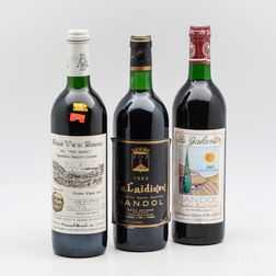 Mixed Southern France Wines, 3 bottles