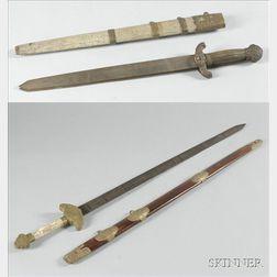 Two Double Swords
