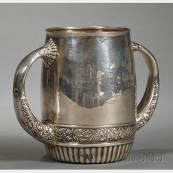 Whiting Manufacturing Co. Sterling Lawn Tennis Trophy Cup