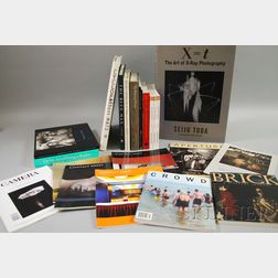 Twenty-two Assorted Arts and Photography Related Books and Periodicals