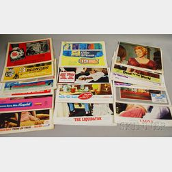 105 1960s U.S. Movie Lobby Cards