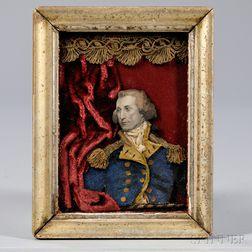 Collage Portrait of George Washington