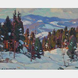 Aldro Thompson Hibbard (American, 1886-1972)      Winter Forest