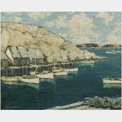 Walter Farndon (American, 1876-1964)  Harbor View