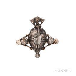 Georgian Rose-cut Diamond Urn Ring