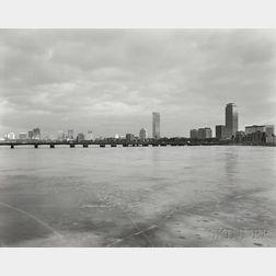 Nicholas Nixon (American, b. 1947)      View of Boston from M.I.T.