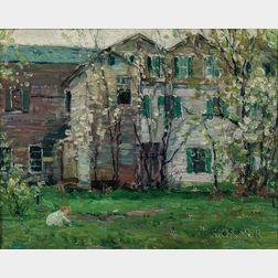 John Fabian Carlson (American, 1875-1947)      Springtime #2