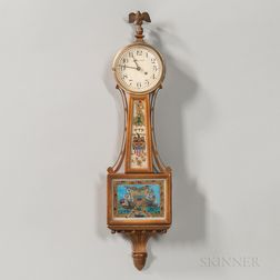"""Miniature Waltham """"Banjo"""" Timepiece"""