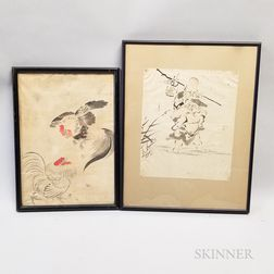 Two Japanese Drawings