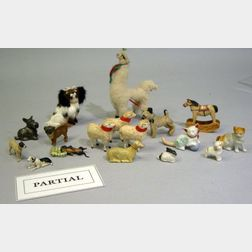 Group of Miniature Animals