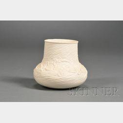 Tiffany Art Nouveau Pottery Vase