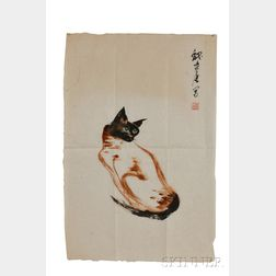 John Way, Painting of a Siamese Cat