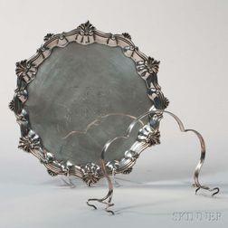 Lincoln & Reed Coin Silver Salver