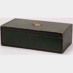 Painted Pine Storage Box