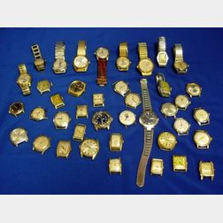 Forty Men's Wristwatches
