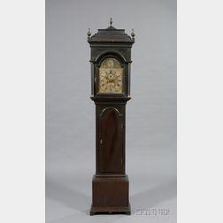 Walnut Queen Anne Tall Clock