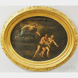 Italian School, 17th/18th Century      Expulsion of Adam and Eve