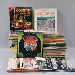 Collection of Mostly Late 20th Century New Orleans Jazz LP Albums