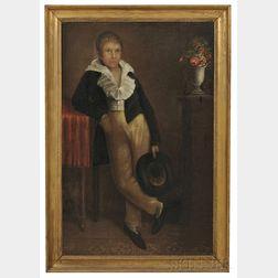 American School, Early 19th Century      Portrait of James Clark Todd (1806-1849).