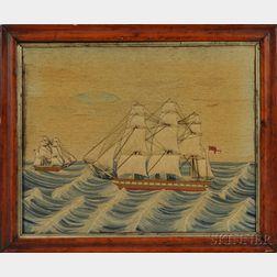 Woolwork Nautical Scene