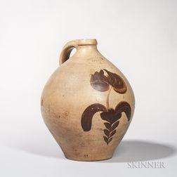 Four-gallon Stoneware Jug