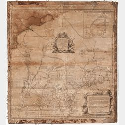 Blanchard, Joseph (1704-1758) and Samuel Langdon (1723-1797) An Accurate Map of His Majesty's Province of New-Hampshire in New England.