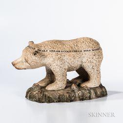 Staffordshire Advertising Polar Bear
