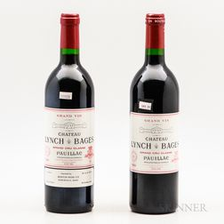 Chateau Lynch Bages 1989, 2 bottles