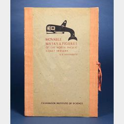 Book of Screenprints, Movable Masks and Figures of the   North Pacific Coast Indians