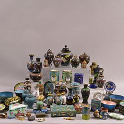 Group of Assorted Mostly Cloisonne Items