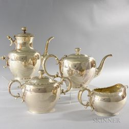 Whiting Manufacturing Co. Sterling Silver Tea Set