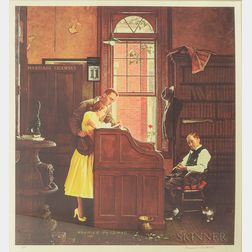 Two Norman Rockwell Lithographs