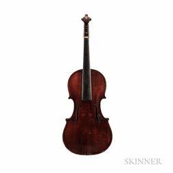 American Violin, Daniel L. Wood, Cohasset, 1893