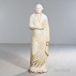 George Washington Cast Iron Dumb Stove Figure