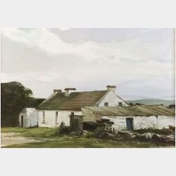 Ogden Minton Pleissner (American, 1905-1983)  Irish Farm