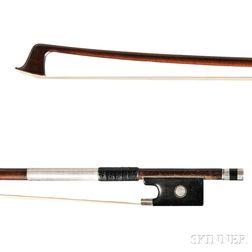 Silver-mounted Violin Bow, Bausch School
