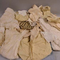 Group of Victorian Undergarments