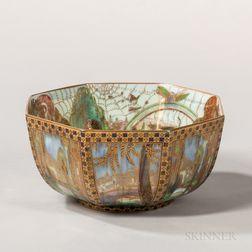 Wedgwood Fairyland Lustre Octagonal Bowl