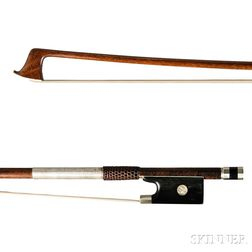 Nickel-mounted Violin Bow, Bausch School
