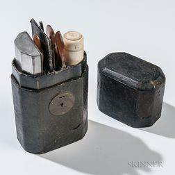 Civil War Officer's Toiletry Kit Identified to 1st Lieutenant Curtis Davis, 28th Maine Infantry Regiment