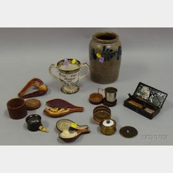 Group of Mostly 19th Century Assorted Collectibles and Decorative Items
