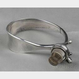 Sterling Silver Bracelet Watch, Torun Bulow-Hube, Georg Jensen