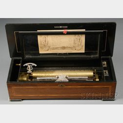 Twelve Air Cylinder Musical Box by Langdorff & Fils