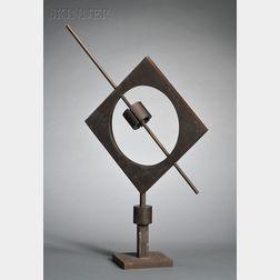 Ettore Colla (Italian, 1896-1968)      Senza Titolo [Meridiana quadrata]