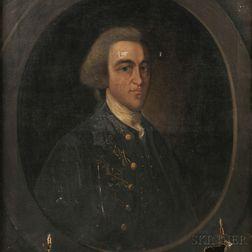 Walter Gilman Page (Massachusetts, 1862-1934)      Portrait of John Hancock After John Singleton Copley.